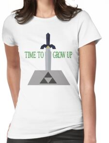 Time to Grow Up Womens Fitted T-Shirt