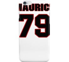NFL Player Maurice Hurt seventynine 79 iPhone Case/Skin