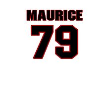 NFL Player Maurice Hurt seventynine 79 Photographic Print