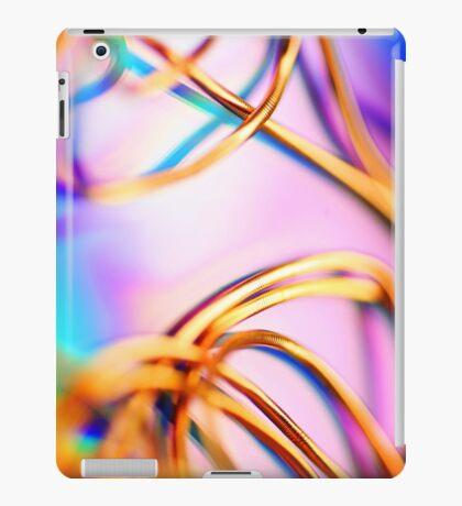 Gold gimp iPad Case/Skin