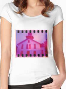 Grand Traverse Light House Women's Fitted Scoop T-Shirt
