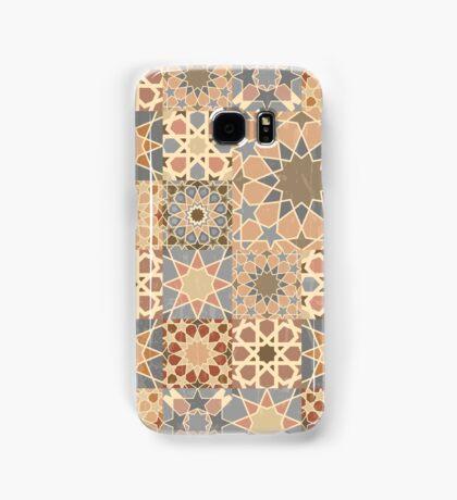 Vintage mosaic tile design Samsung Galaxy Case/Skin