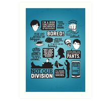 I'd Be Lost Without My Blogger Art Print