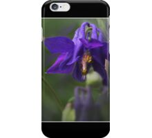 Earth Laughs in Flowers Columbine Fine Art Poster iPhone Case/Skin