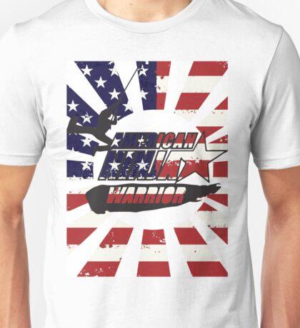 American Ninja Ninja Warrior  Unisex T-Shirt