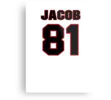 NFL Player Jacob Pedersen eightyone 81 Metal Print