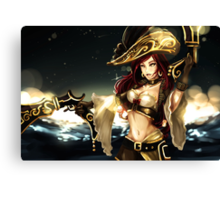 League of Legends Lol Miss Fortune Canvas Print
