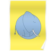 Dreaming Elephant Poster