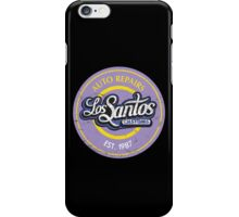 Los Santos Customs iPhone Case/Skin