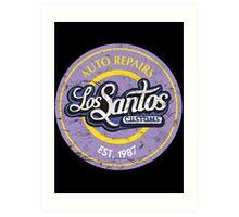 Los Santos Customs Art Print