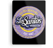 Los Santos Customs Metal Print