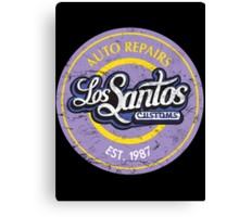 Los Santos Customs Canvas Print