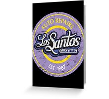 Los Santos Customs Greeting Card