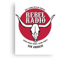 Rebel Radio! Canvas Print