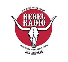 Rebel Radio! Photographic Print