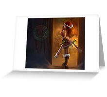 Miss Fortune LOL League of Legends Greeting Card