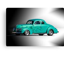 1940 Ford 'With Envy' Coupe Studio Canvas Print