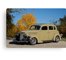 1936 Ford 'Four Door' Sedan Canvas Print