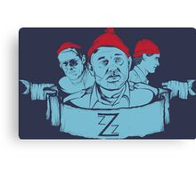 Team Zissou Canvas Print