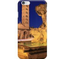 Saint Mary in Cosmedin in Rome iPhone Case/Skin