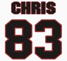 NFL Player Chris Pantale eightythree 83 by imsport
