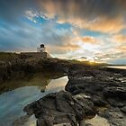 Lighthouse Reflections. by Dave Staton
