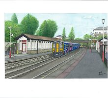 Horsforth Leeds New Rail Station by Brian Hargreaves