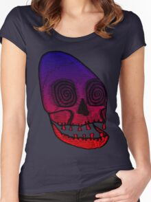 Ancient Skull Women's Fitted Scoop T-Shirt