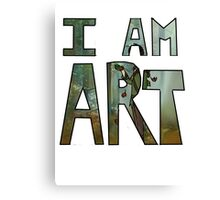 I AM ART - Hiccup Canvas Print