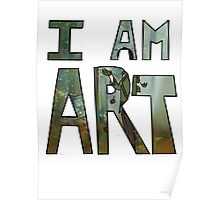 I AM ART - Hiccup Poster