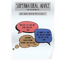 Supernatural Advice Poster