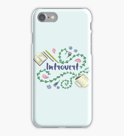 Introvert iPhone Case/Skin