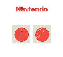NES Controller Buttons Photographic Print