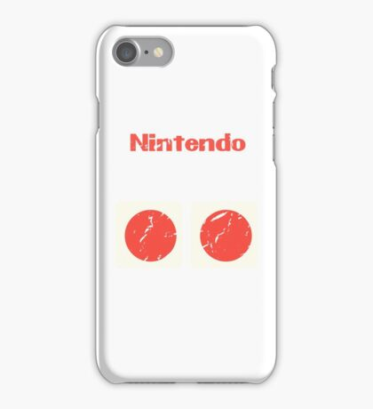 NES Controller Buttons iPhone Case/Skin