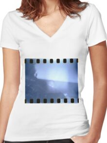 Portrait of Jess Women's Fitted V-Neck T-Shirt