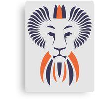 Lion Haze - Two Color King Canvas Print
