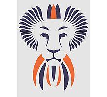 Lion Haze - Two Color King Photographic Print