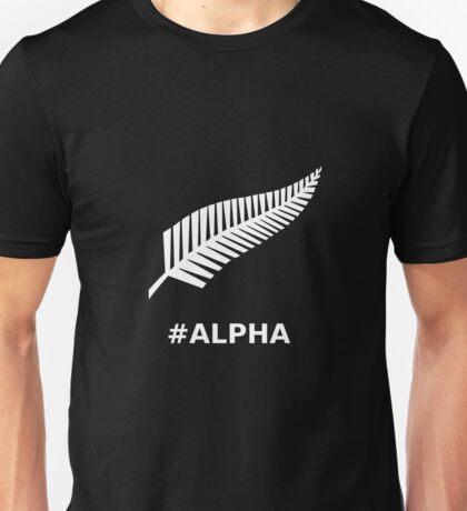 All Blacks Alpha Fern Unisex T-Shirt