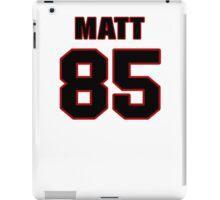 NFL Player Matt Veldman eightyfive 85 iPad Case/Skin
