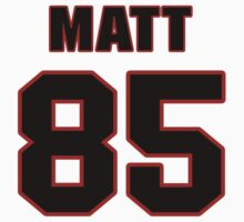 NFL Player Matt Veldman eightyfive 85 by imsport