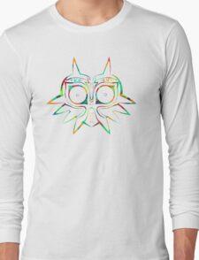 Majora's Mask Lines Color Long Sleeve T-Shirt