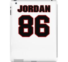 NFL Player Jordan Reed eightysix 86 iPad Case/Skin