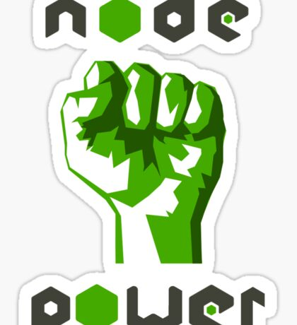 nodejs node js power Sticker