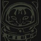 THE BLACK-OUT SPACE CAT SMARTPHONE CASE (Graffiti) by leethompson