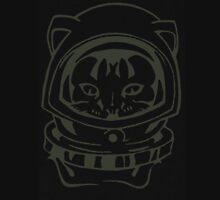 THE BLACK-OUT SPACE CAT SMARTPHONE CASE (Graffiti) Unisex T-Shirt