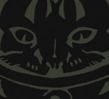THE BLACK-OUT SPACE CAT SMARTPHONE CASE (Graffiti) Sticker