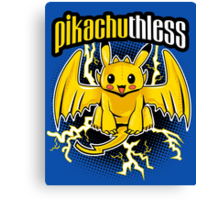 Pikachuthless Canvas Print
