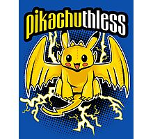 Pikachuthless Photographic Print