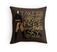 Take My Love Throw Pillow