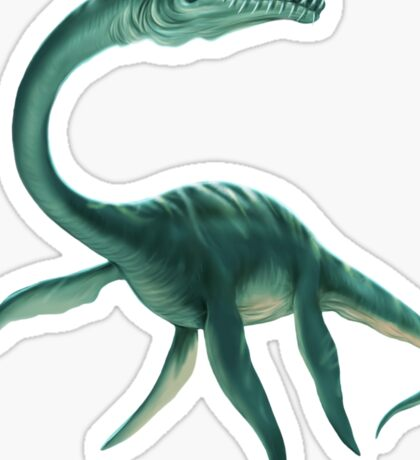 Underwater Dinosaur Sticker